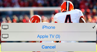 AirPlay for Apple TV